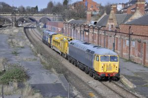 56081-56098 6x59 Doncaster to  Leicester at Masborough 07-03-2017