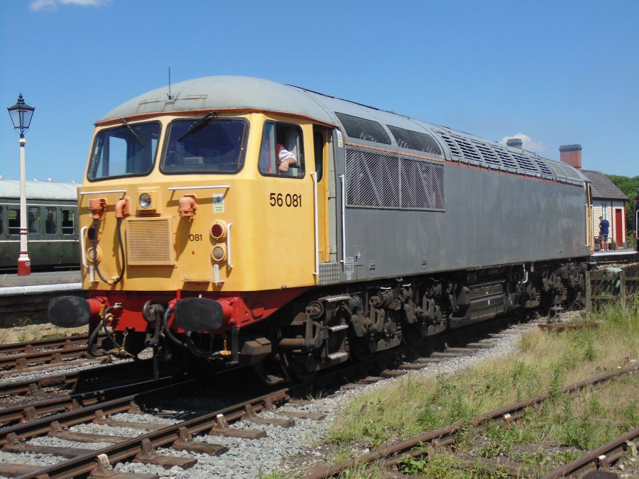 56081 during a layover at the MRC Gala 18th June.